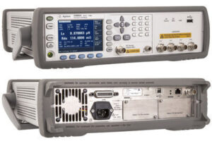 Front & Back: Keysight (Agilent) E4980A LCR Meter