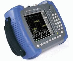 Side View: Keysight (Agilent) N9340B Handheld RF Spectrum Analyzer, 3 GHz