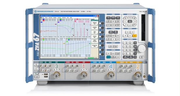 Electrical Network Analyzer : Rohde schwarz zva mhz ghz vector network analyzer