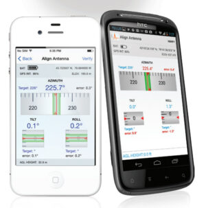 Smart Phone App: Multiwave Sensors Smart Aligner Antenna Alignment System