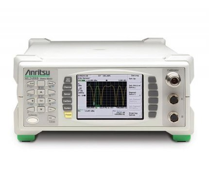 Anritsu ML2487B Wideband Power Meter for Measuring 3G/4G, WLAN and WiMAX Signal Formats