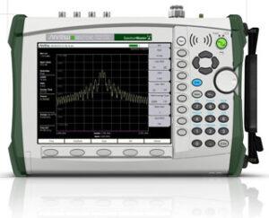 Anritsu MS2725C 32 GHz Handheld Spectrum Analyzer with AMFMSSB Demodulation