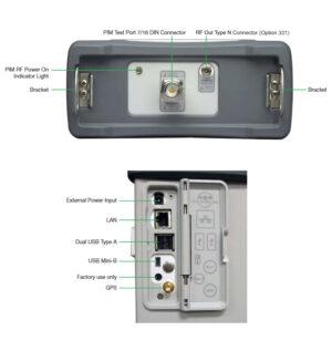 Cable Inputs: Anritsu MW82119B-0700, MW82119B-0850, MW82119B-0194 PIM Testers