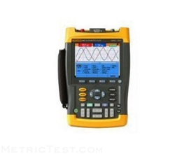 fluke-196c-3-100mhz-2ch-1gsas-scopemeter-color-display