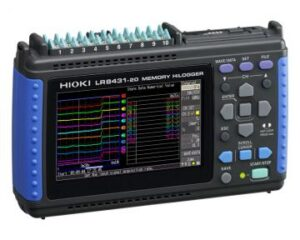 Hioki LR8431-20 10-channel Handheld Data Logger
