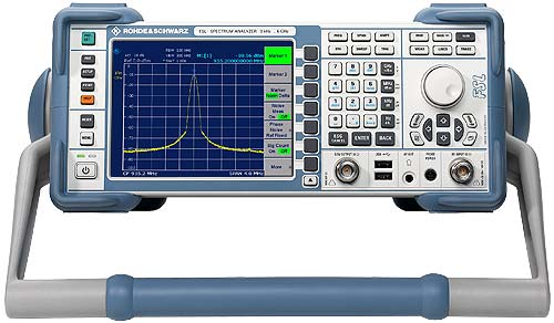 The Best Network Analyzers : Used rohde schwarz fsl spectrum analyzer khz ghz