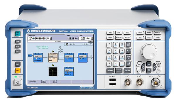 Gps Signal Generator : Used rohde schwarz smbv a b ghz vector signal