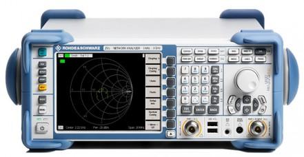 Used Rohde & Schwarz ZVL6 Portable Vector Network Analyzer, 9 kHz to