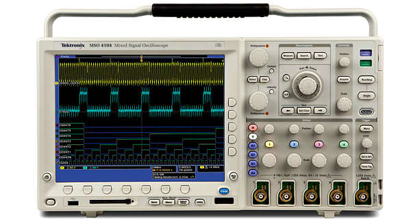 Used Tektronix Dpo4054 Digital Phosphor Oscilloscope