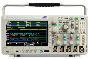 Tektronix MDO3054 500 MHz, 4-Channel Mixed Domain Oscilloscope