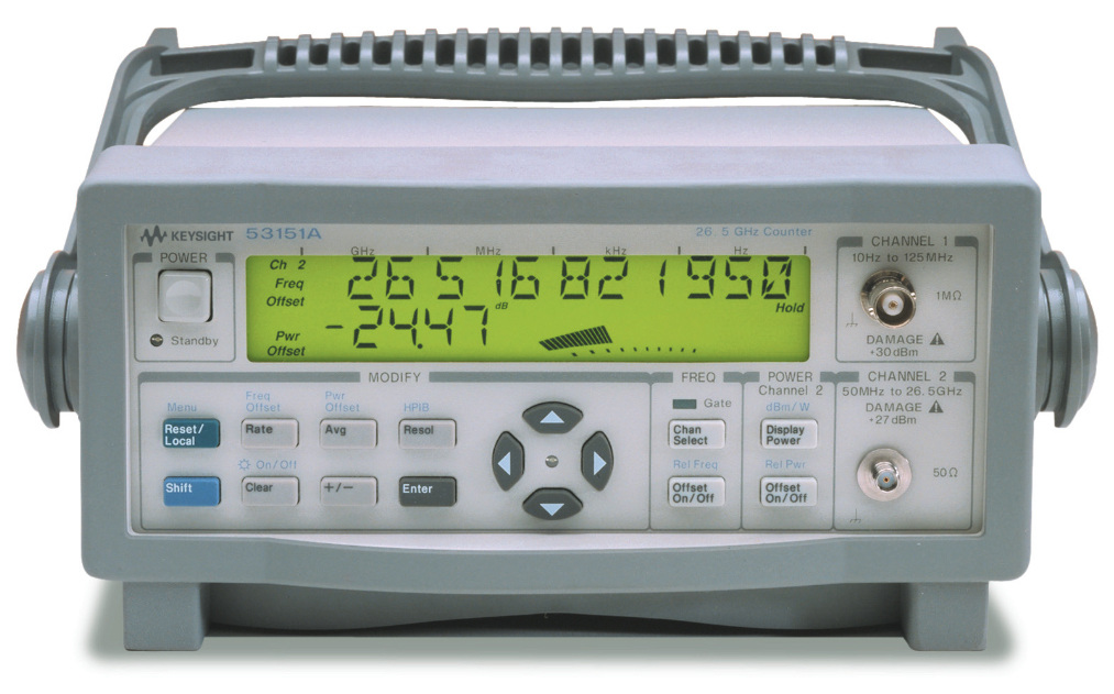 Agilent Frequency Counter : Used keysight agilent hp a ghz cw microwave