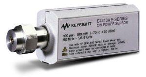 Keysight (Agilent) E4413A CW Diode Power Sensor