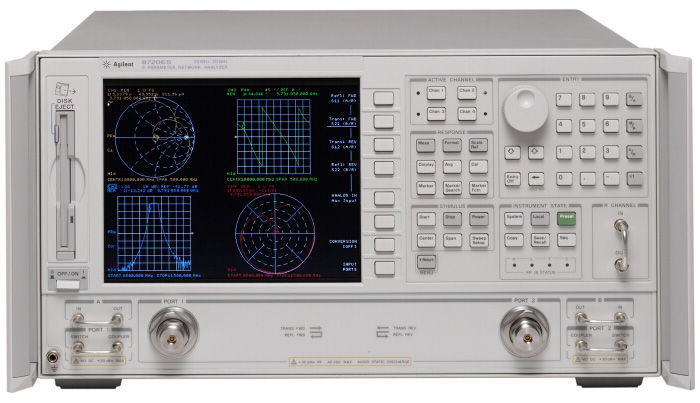 Electrical Network Analyzer : Used keysight agilent hp es s parameter network