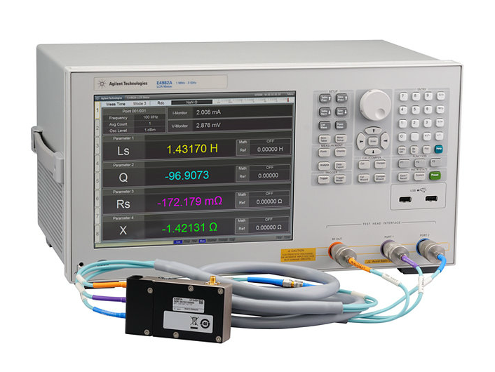 Keysight Lcr Meter : Used keysight agilent e a lcr meter mhz to ghz