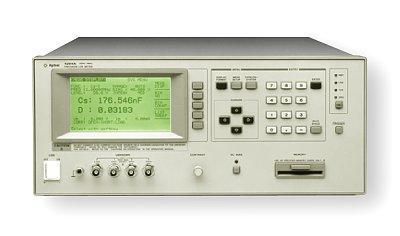 used keysight agilent hp 4284a precision lcr meter 20 hz to 1 mhz rh testworld com wayne kerr lcr meter 4300 user manual agilent 4284a lcr meter user manual