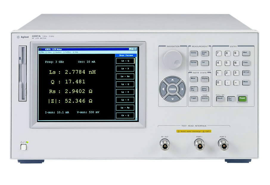 Keysight Lcr Meter : Used keysight agilent hp a rf lcr meter mhz ghz