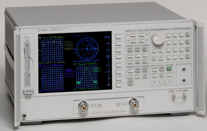Keysight Network Analyzer : Used keysight agilent hp es et rf vector network
