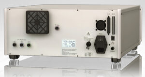 Rear Panel: Haefely AXOS5 EMC Impulse Generator for Surge, Burst/EFT & Dips, Drops & Interrupts