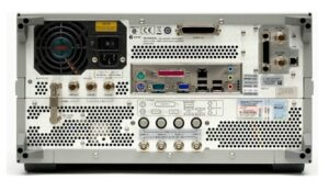 Rear Inputs: Keysight (Agilent) E5071C ENA Series Network Analyzer