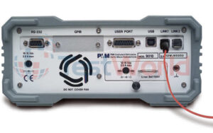 Rear Panel: PMM 9010 EMC/EMI Receiver for CISPR 16-1-1 & MIL-STD-461F, 10 Hz - 30 MHz