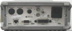 Rear RF Inputs: Keysight (Agilent/HP) E4418B, E4419B Dual-Channel RF Power Meter