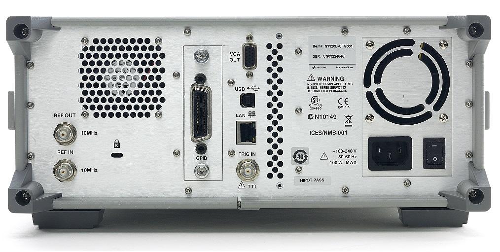 Network Analyzer Testing Radar Gun : Used keysight agilent n b rf spectrum analyzer khz