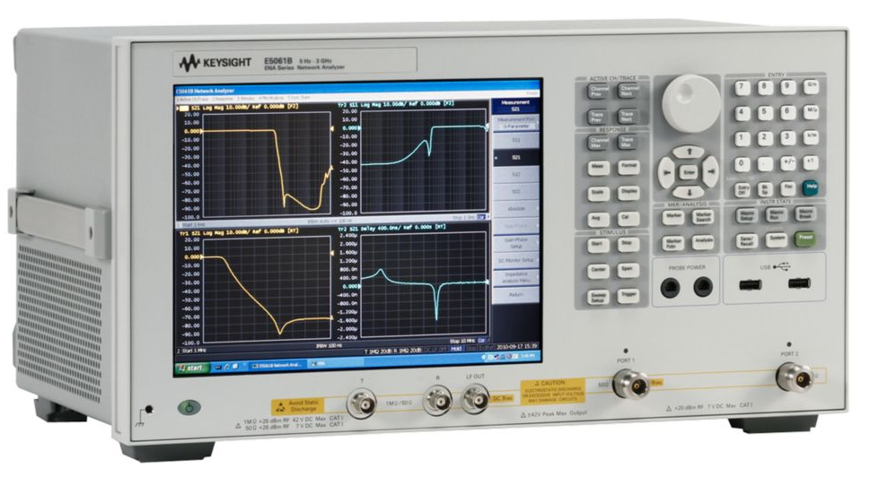 Keysight Network Analyzer : Used keysight agilent e b rf network analyzer hz