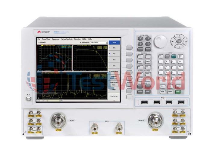 Keysight Network Analyzer : Used keysight agilent e b mhz to ghz rf network