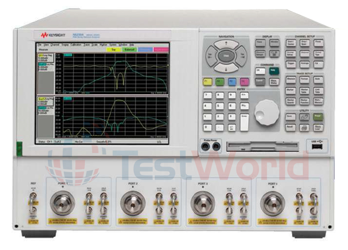 Keysight Network Analyzer : Used keysight agilent e b mhz to ghz rf vector