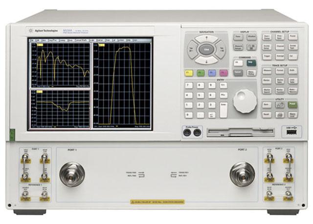 Agilent Vector Network Analyzer : Used keysight agilent e b mhz to ghz microwave