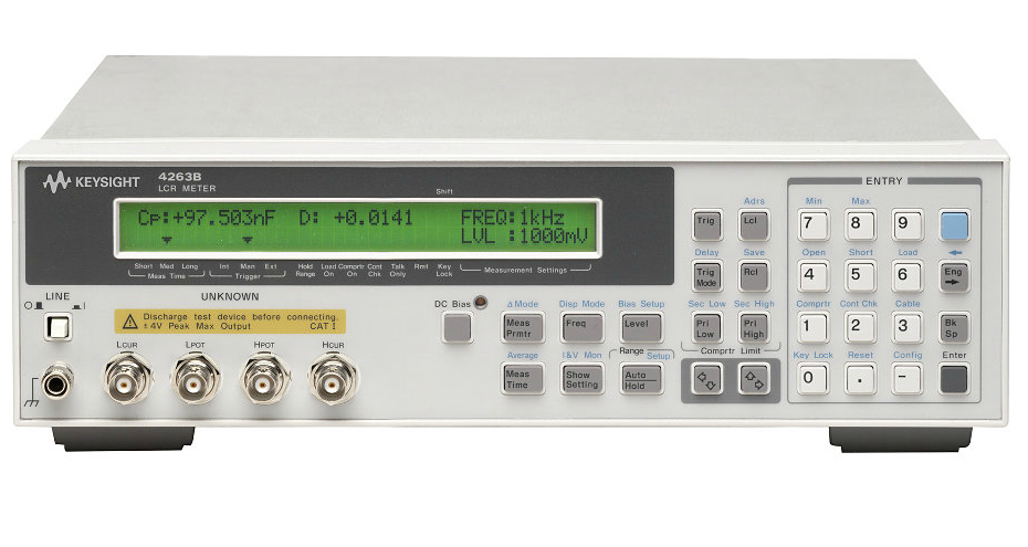 Keysight Lcr Meter : Used keysight agilent hp b lcr meter hz to khz