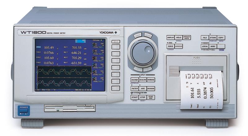 Used Yokogawa Wt1600 Digital Power Meter